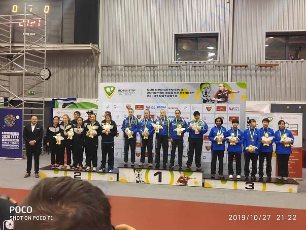 Cadets World Championship 2019 at Poland, Prize Ceremony