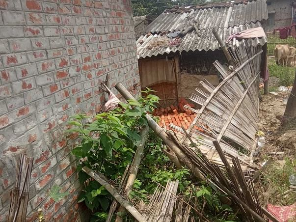 Help Raju provide his family with a roof