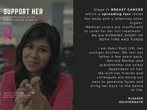My Sister Is Fighting For Her Life, We Need Your Support To Save Her!