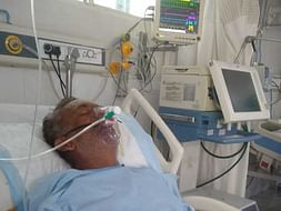Help my father fight from Brain Haemorrhage and  Pneumonia