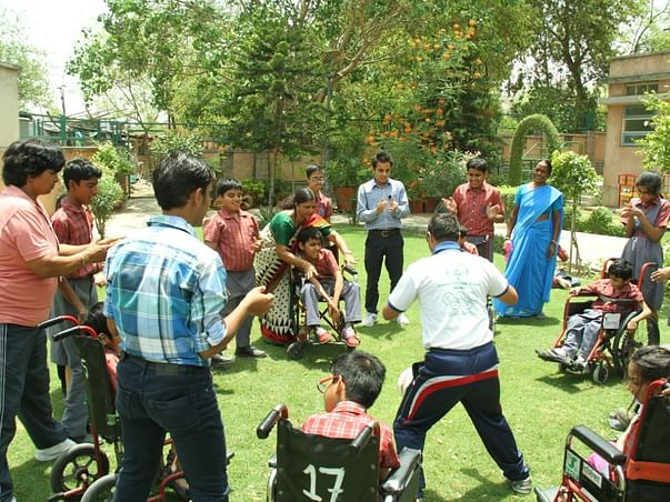 Help for the specially abled children