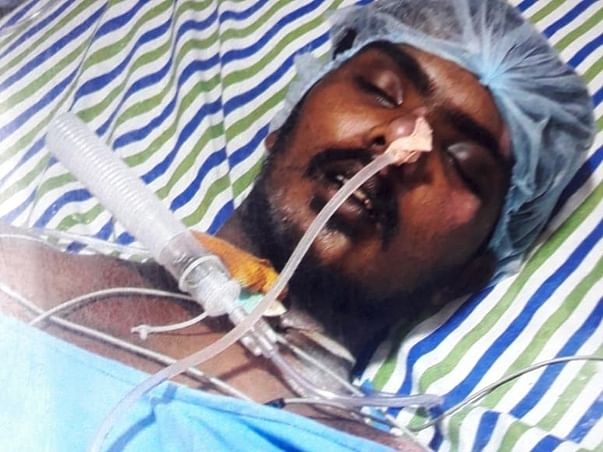 Help Jafar recover from severe spine injury