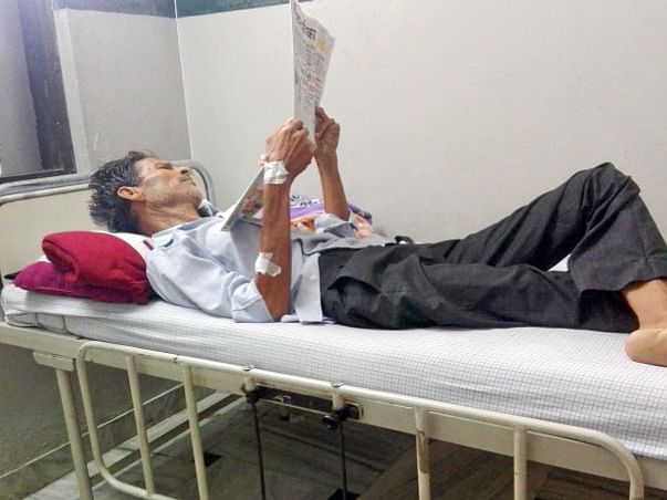 Support Atmaram kalal Recover From Lungs Cancer