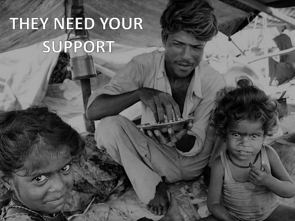 Help the poor and needy to survive through the Covid-19 crisis