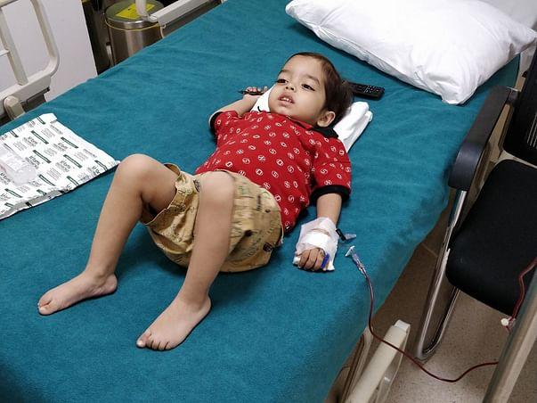 5 Years Old Sarvasva Varma Needs Your Help To Fight For Thalassemia And Needed Bone Marrow Transplant