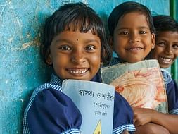 Providing free books to poor kids in COVID-19 pandemic.