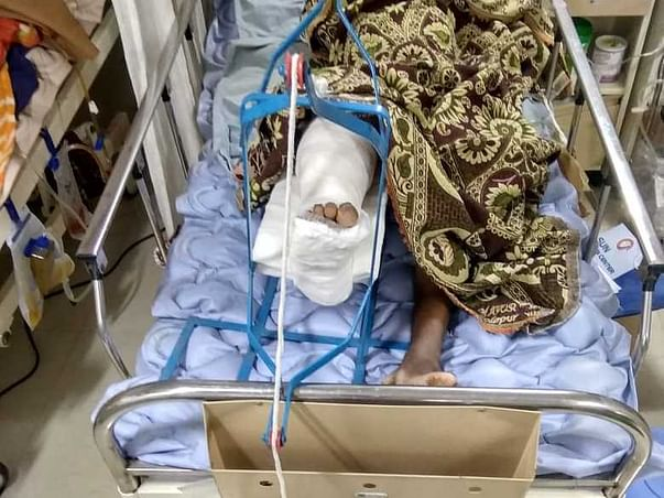 Help Thakare fight Eye injury and leg fracture