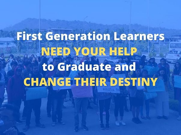 HELP 22 FIRST GENERATION LEARNERS OF VULNERABLE COMMUNITIES GRADUATE!