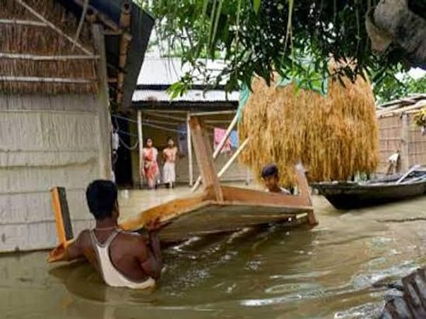 Help families survive the floods amidst this pandemic in Assam