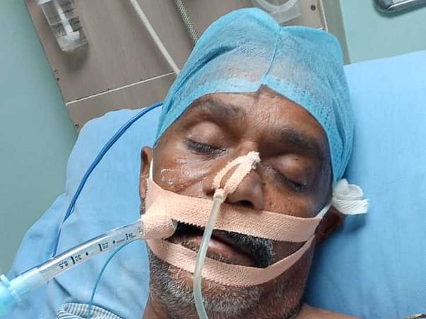 Help My Father Jahangeer. He Is Suffering From COVID19.