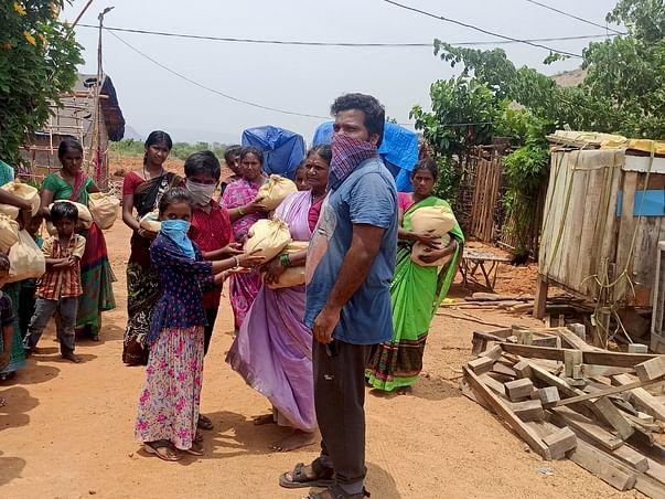 Help Me to Serve For Slums&Poor in corona lockdown days