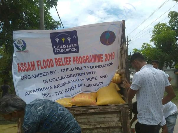We provide relief to flood victim in two isolated village last year