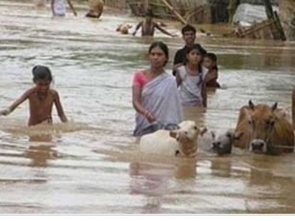 Floods of Assam is the national issue.