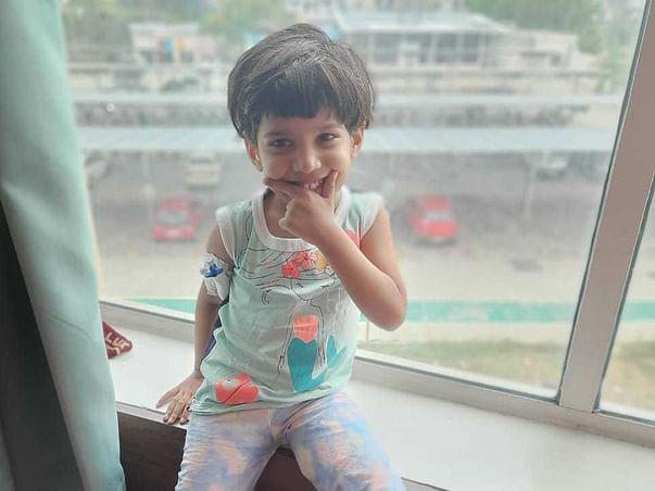 4years old Aarohi needs your help fight Acute lymphoblastic leukemia