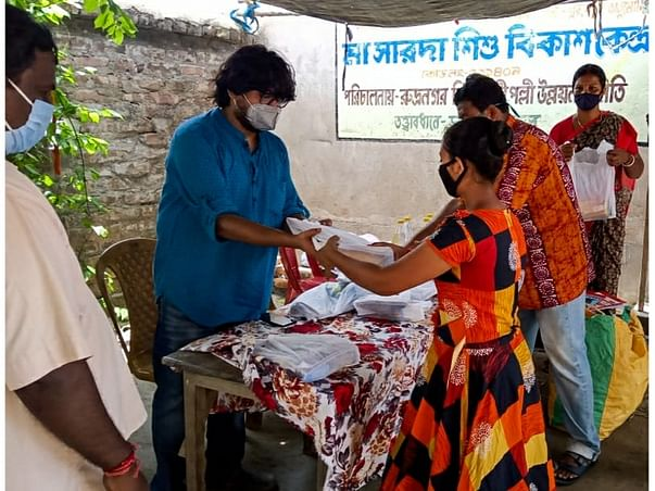 Educational Aid For Amphan & Lockdown Affected Children Of Sunderban