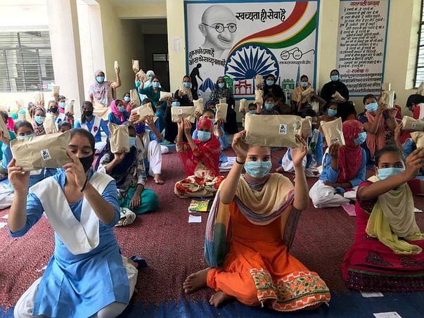 Help girls of Uttarakhand get The Sanitary Kit