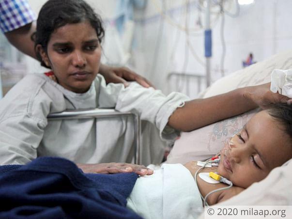 2 Years Old Kushi Gowda Needs Your Help Fight Neuroblastoma