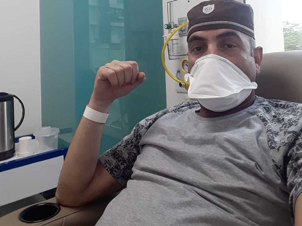Support Jan Mohammed Arif Recover From Throat Cancer