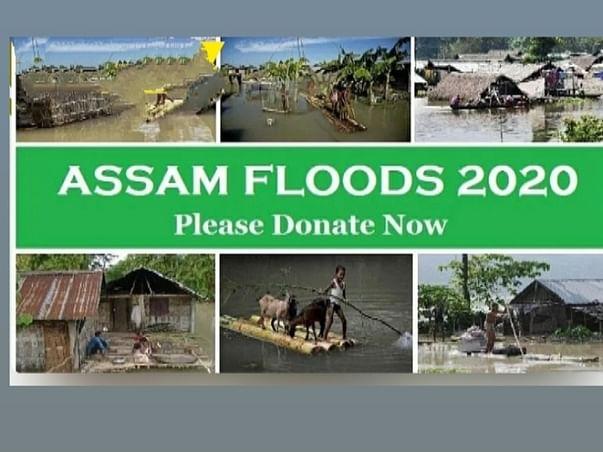 Save Assam  Flood Relief, Food, Shelter &Medical