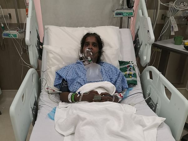 Please support 'Poomathi Nataraj' for Dual Lungs Transplantation.