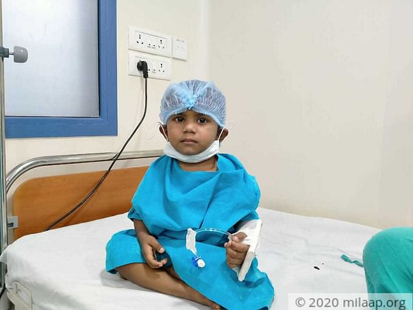 This 2 years old needs your urgent support in fighting Neuroblastoma (stage 4)