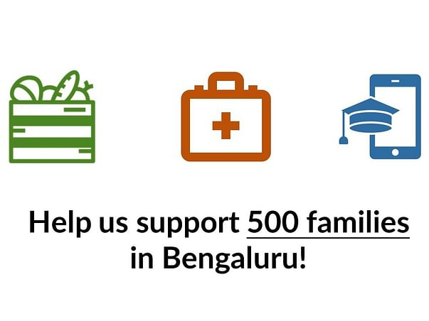 Help Support 500 Families in Bengaluru through the COVID crisis!