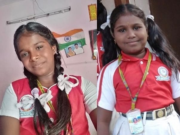Help Nithyashree and Manisha stay in school