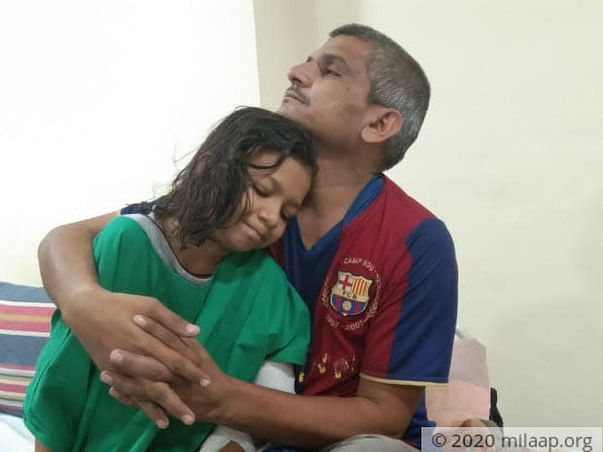 9 Years Old Himakshi Patil Needs Your Help Fight Acute Myeloid Leukemia