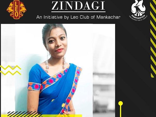 Zindagi for Nimpa By Leo Club of Mankachar Greater