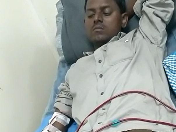 Please help Somaiah Karra Kidney transplantation, fight TB & HBA