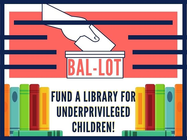 Help me fund a library for underprivileged children