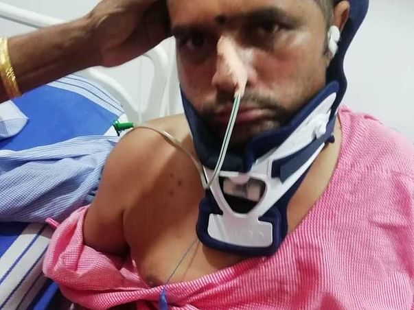 Support Mallikarjun Fight To Paralysis Due To High Bp