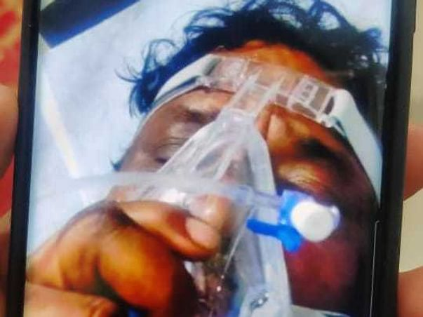 Help Santhosh's Father To Recover From Corona Virus