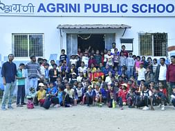 Support Agrini's door step education program during Covid-19 pandemic