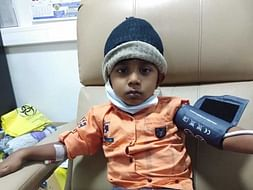4 years old Saswanth your help fight Acute lymphoblastic leukemia(all)