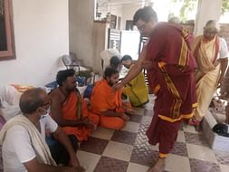 Helping hand to poor Brahmins in this pandemic corona effect