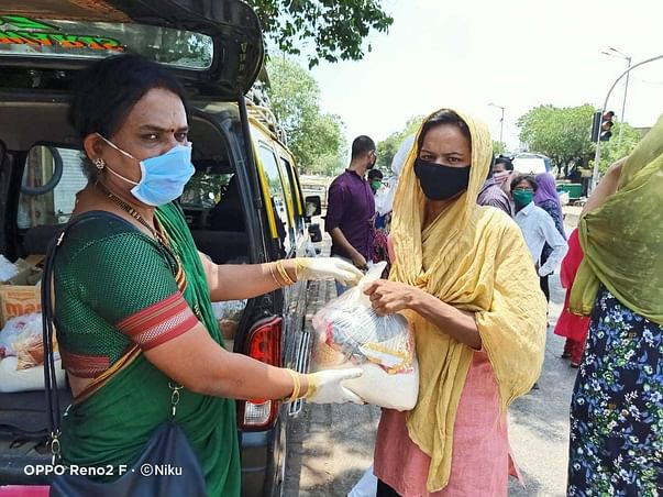 Help the trans community of India who have no other source of income