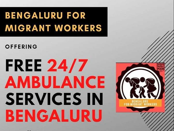 Help us continue provide free Ambulance services in Bengaluru