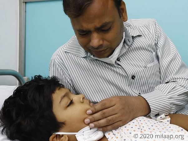 7 years old Naman needs your help fight Acute lymphoblastic leukemia (all)
