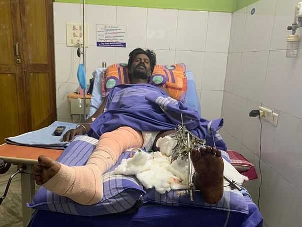 Support Soma Raju Recover From Accident