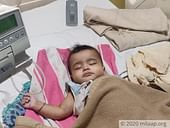 With Only Rs 500 Left In His Pocket, This Father Struggles To Save His Baby From Cancer