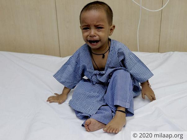 2 years old Angel needs your help fight Congenital Heart Disease