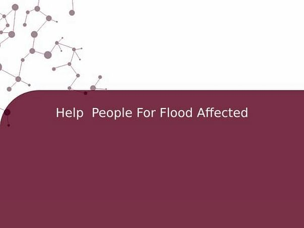 Help  People For Flood Affected