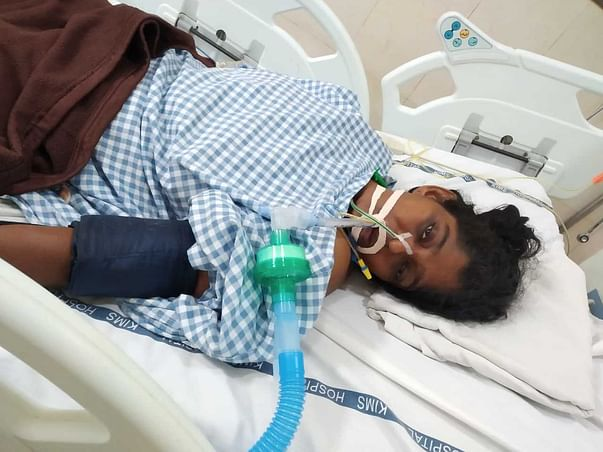 40 Years Old Raviteja Needs Your Help Fight Spinal Cord Injury
