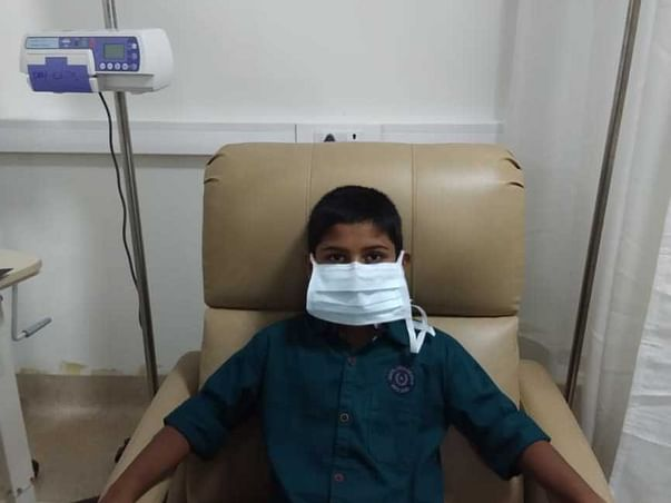 This 11 years old needs your urgent support in fighting T Cell Lymphoma
