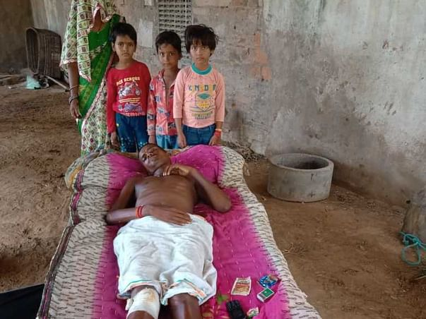 Support Prakash Chand Recover From Leg Injury & Spinal Cord Fracture