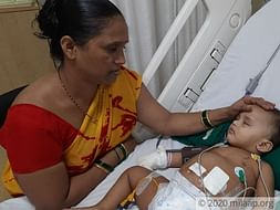 1 year old Prisha needs your help fight Acute Kidney and Renal Failure
