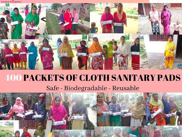 Project Rahat: Donate Sanitary Napkins To Underprivileged Girls .