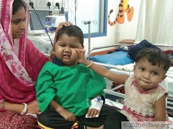 5 years old Altamash needs your help fight hemaphagocytic lymphohistiocytosis-4