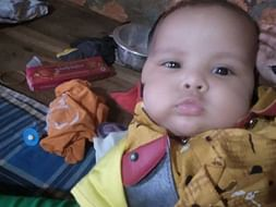 4 months old Ishaan needs your help fight acute myocarditis